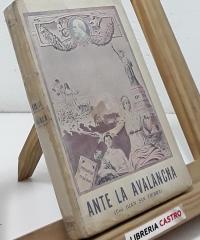 Ante la Avalancha (dedicado por el autor) - Juan Sin Tierra