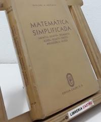 Matemática simplificada - Gaylord M. Merriman