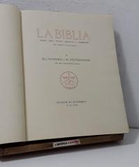 La Biblia. III. Els Nombres. El Deuteronomi (Numerat) - Dom Bonaventura Ubach