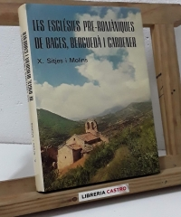 Les esglésies pre-romàniques de Bages, Berguedà i Cardener - X. Sitjes i Molins