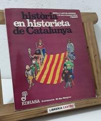 Història en historieta de Catalunya - Avel.lí Artís- Gener i el seu inseparable Tísner