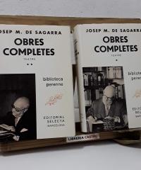 Josep Mº de Sagarra. Obres Completes. Teatre (II Volums) - Josep Mª de Sagarra