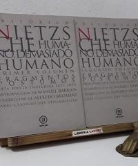 Humano, demasiado humano (II Tomos) - Nietzsche