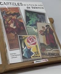 Carteles de la Feria de Julio de Valencia - Rafael Contreras Juesas